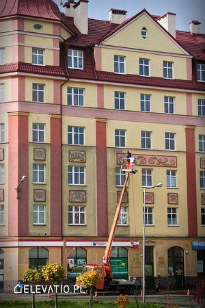 Czyszczenie elewacji i mycie fasad.
